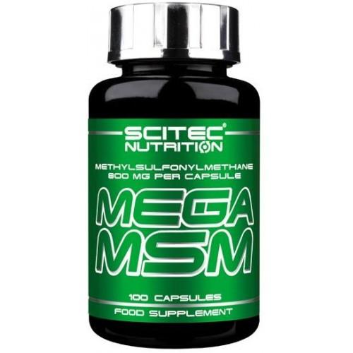 Scitec Mega MSM - 100 Capsule