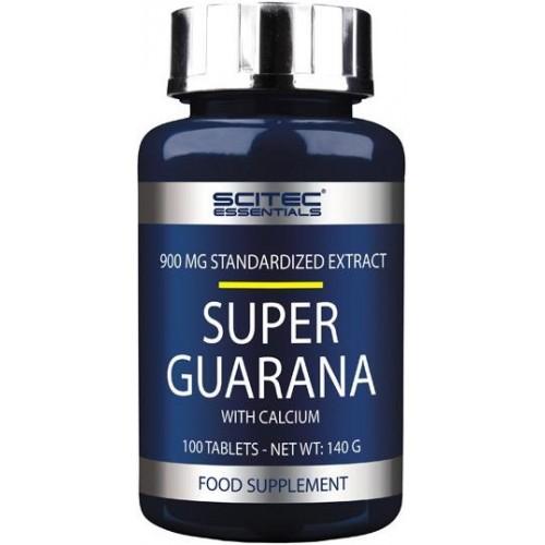 Scitec Super Guarana 900mg - 100 Tablete