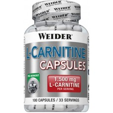 Weider L-Carnitina Capsule - 100 Capsule