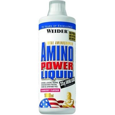 Weider Amino Power Liquid Cranberry- 1000ml
