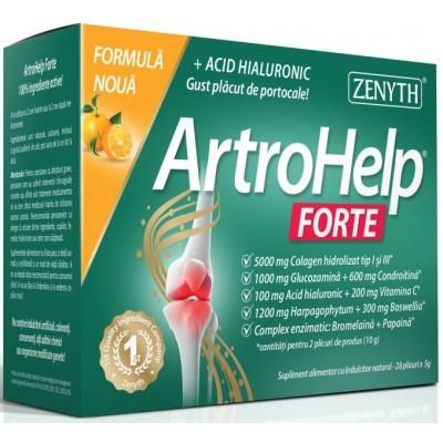 Zenyth ArtroHelp Forte Articulatii  - 28 plicuri