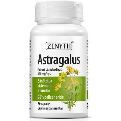 Zenyth Astragalus Extract 450mg, Imunitate, tonic si adaptogen - 30 Capsule