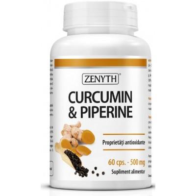 Zenyth Curcumin & Piperine 500mg - 60 Capsule