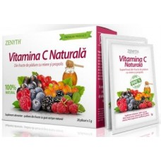 Zenyth Vitamina C Naturală - 28 plicuri x 5 g